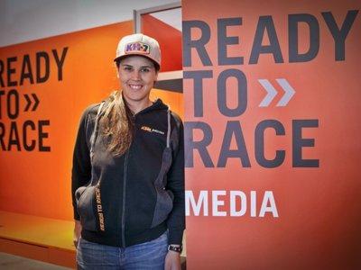 Laia Sanz se pasa al naranja y ficha por el KTM Factory Rally Team