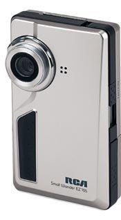 RCA EZ105, cámara de vídeo de reducido tamaño
