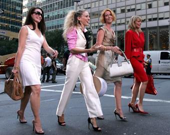 Primera imágenes de Sexo en Nueva York, la película