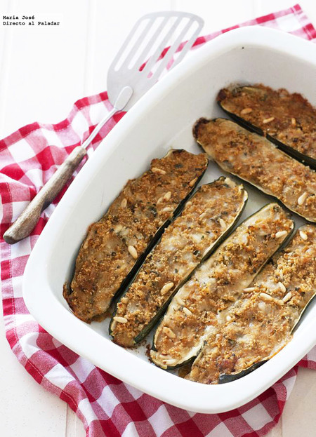 Receta de calabacines al estilo de Cerdeña, para preparar con antelación y calentar al servir