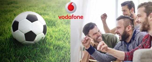 El paquete de fútbol en Vodafone para la temporada 2016/2017 costará 18 euros