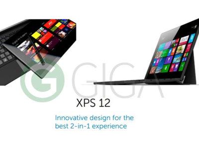 El próximo Dell XPS 12 elige el estilo Microsoft Surface