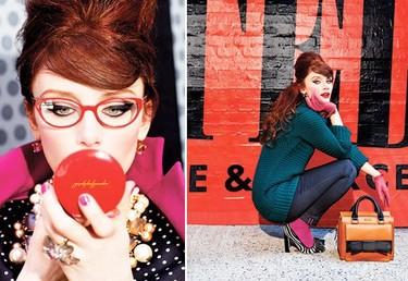Muerde la manzana y píntate los labios con Kate Spade Otoño-Invierno 2011/2012