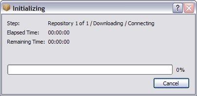 npackd-initializing