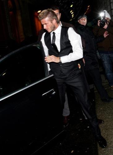 David Beckham con el nuevo tupé: trucos para ocultar las entradas y la caída del pelo, cresta
