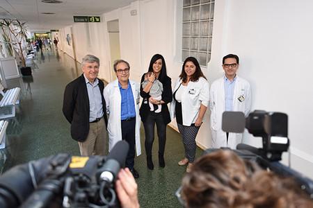 Equipo médico Hospital Clinic Barcelona