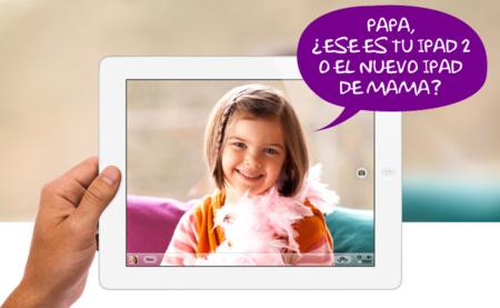 Comparativa del iPad 2 y el nuevo iPad con pantalla Retina
