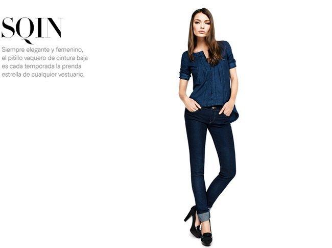 pantalon sqin H&M