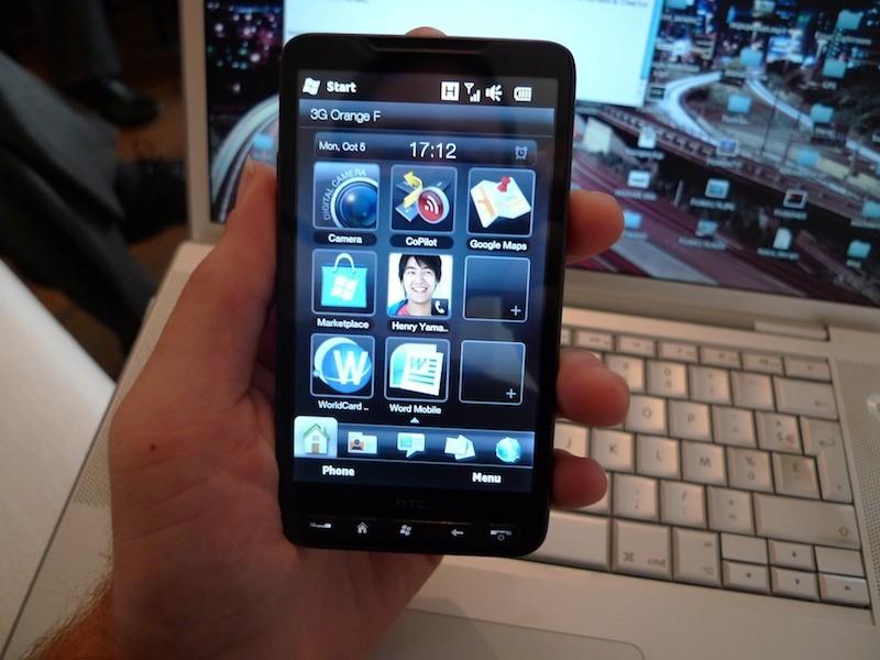 Foto de HTC HD2, presentación (4/8)