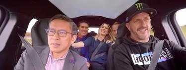 Video: Ken Block pone a prueba el Ford Mustang Mach-E en compañía de sus amigos