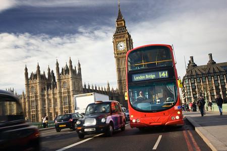 Autobus Taxi Londres