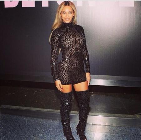 Beyonce Naomi Campbell Tom Ford Vestido Negro