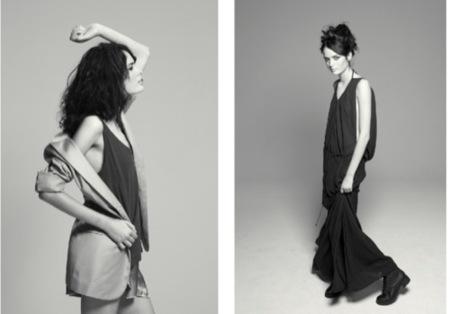 The Music Collection: Adolfo Domínguez y los 40 Principales se unen en una colección rockera, vestido largo