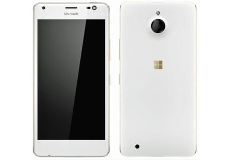 ¿La fiebre del oro también en Microsoft? Eso parece en el último render filtrado del Lumia 850