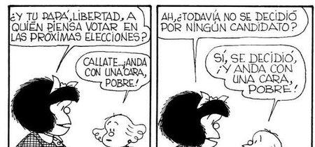 29 viñetas de Mafalda que definen perfectamente la política de España en 2016