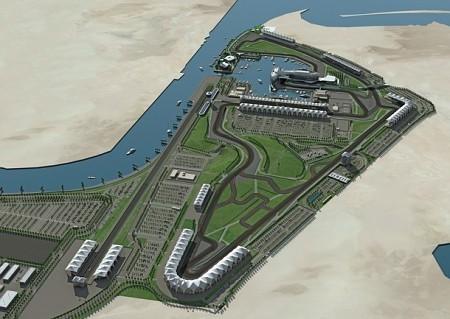 El circuito de Abu Dhabi estará listo