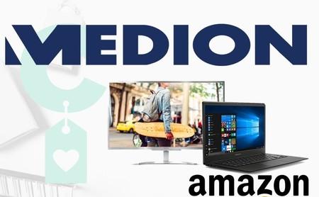 Ofertas en portátiles y sobremesa Medion en Amazon