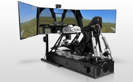 Los fanáticos de los simuladores de coches tienen su gama alta, y cuesta 60.000 dólares
