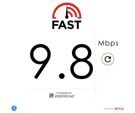 Fast Netflix Velocidad Internet