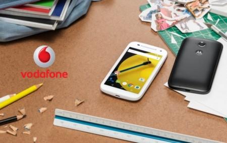 Precios Motorola Moto E 4g con Vodafone y comparativa con Orange, Amena y Simyo