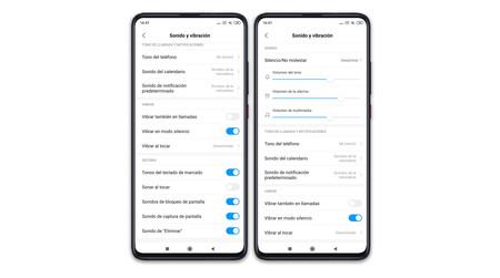 Xiaomi Mi 9t Pro Ajustes Audio Generales