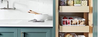 Limpieza a lo Marie Kondo: la cocina