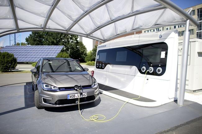 Volskwagen E Golf Baterias Solido