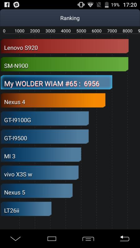 Wolder Wiam 65 batería