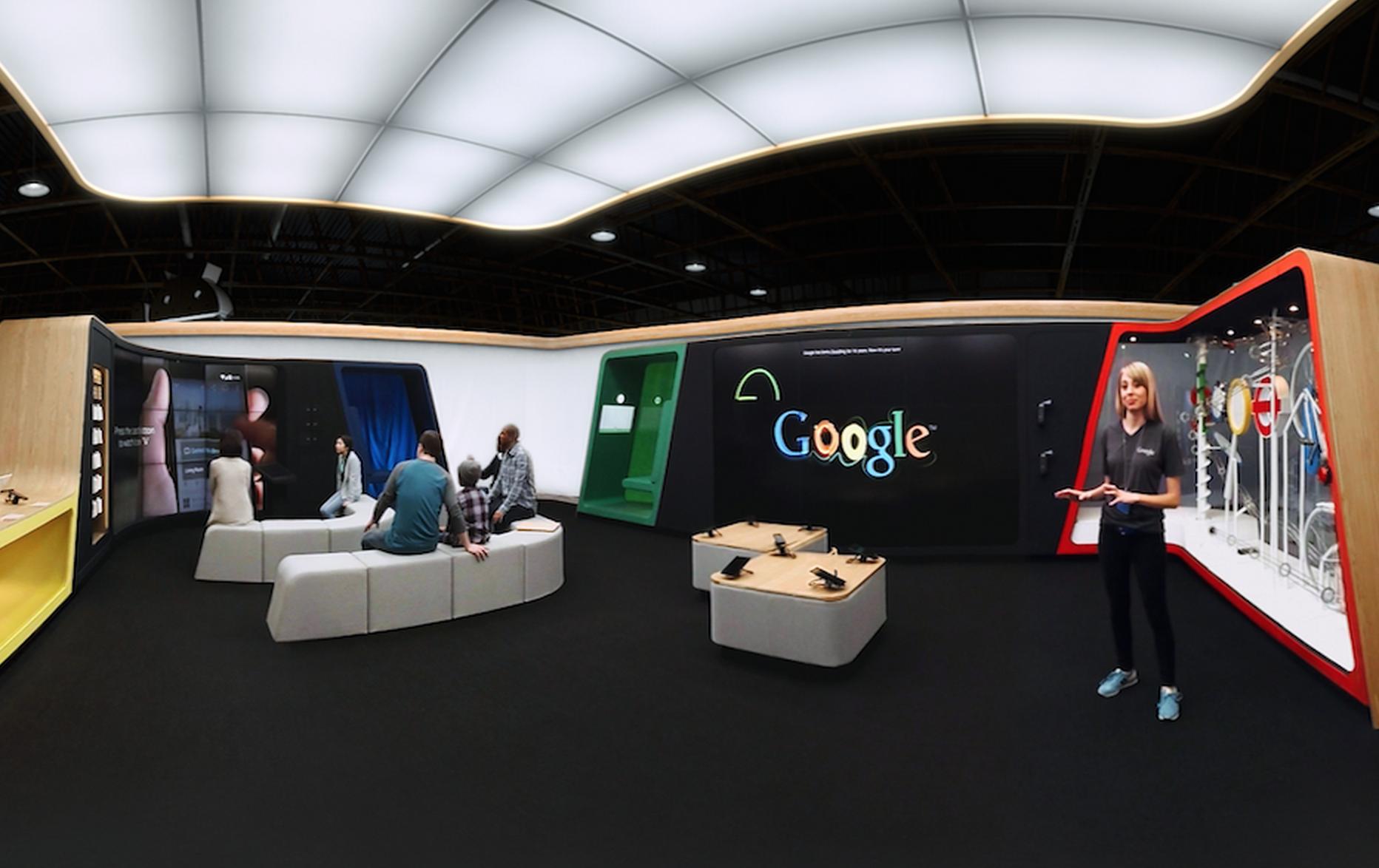 Google Shop VR