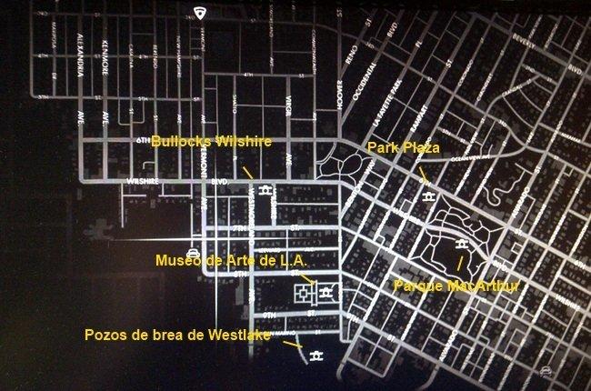 Zona Wilshire en L.A. Noire