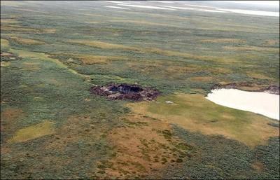 Se descubren otros dos misteriosos cráteres en Siberia
