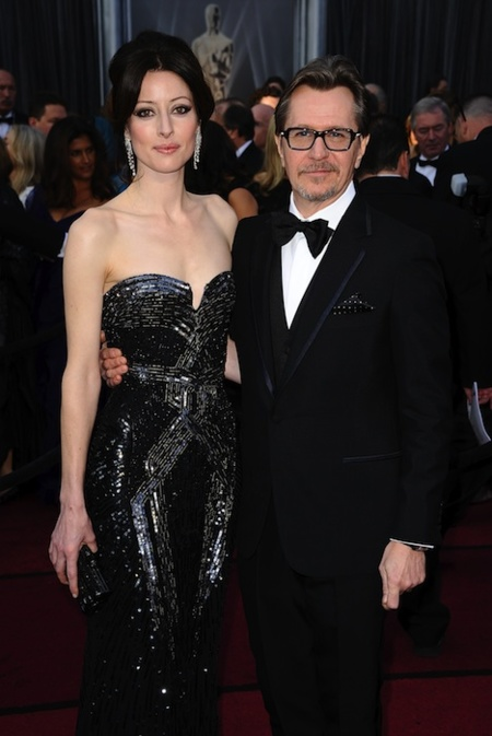 Gary Oldman and Singer Alexandra Edenborough