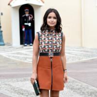 Miroslava Duma en el desfile de Louis Vuitton