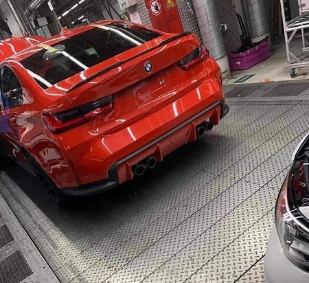 BMW M3 filtrado