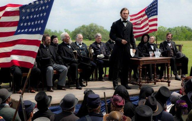 Imagen de Benjamin Walker en 'Abraham Lincoln: Cazador de Vampiros'