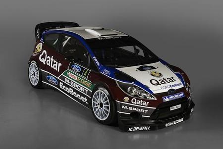 Qatar M-Sport World Rally Team presenta su nueva decoración para la temporada 2013