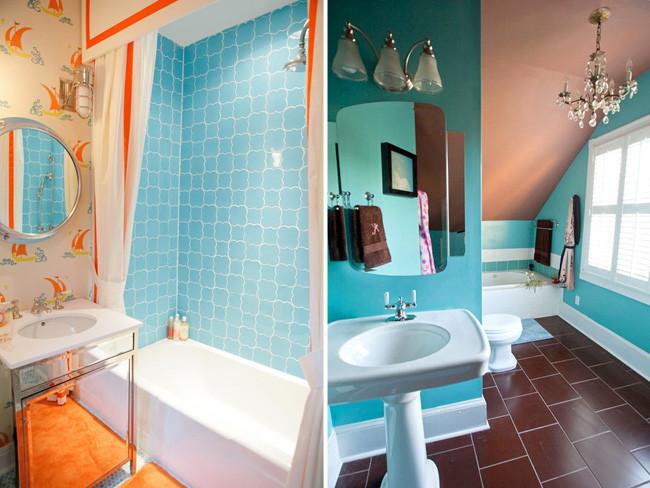 Azulejos Para Baños Color Turquesa:El turquesa es el color del verano