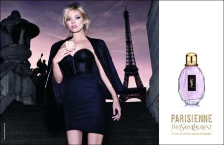 Kate Moss de nuevo espectacular para Yves Saint Laurent
