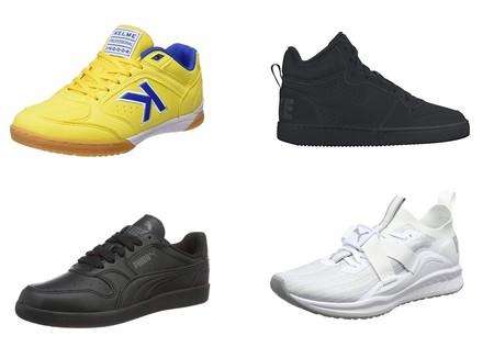 Ofertas en tallas sueltas de zapatillas Nike, Puma y Kelme disponibles en Amazon desde 20 euros