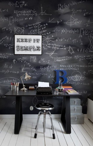 Detalle para la casa de... un profesor (II)