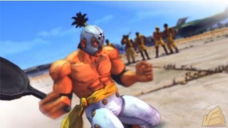 Street Fighter IV. El Fuerte te da con una sartén si quiere