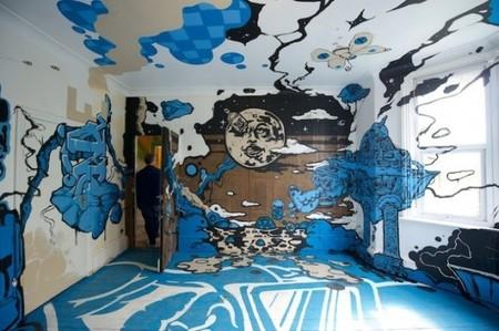 Buena o mala idea? arte urbano en el dormitorio