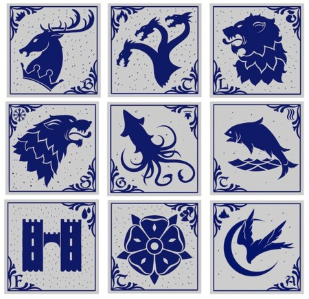 Westeros Tiles Collection