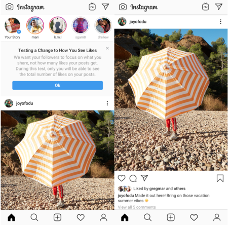 Instagram Hide Like Counter