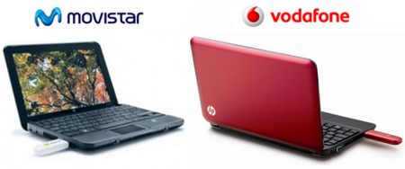 Movistar y Vodafone lanzan Miniportátiles por 29 euros