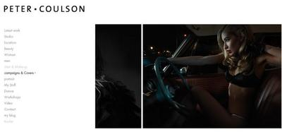 Peter Coulson, fotografías y vídeos para inspirarnos en el género de retrato y moda
