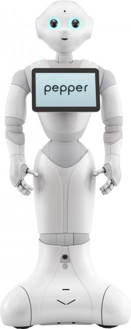 Pepper, el robot que aprende y expresa emociones