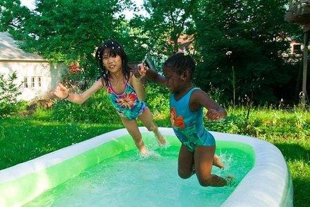 Los peligros de las piscinas hinchables