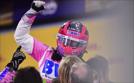 Sergio Perez Sakhir F1 2020