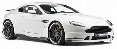 Aston Martin V8 Vantage tocado por Hamann